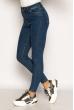 Модные женские джинсы 134P306 синий