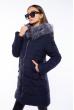 Куртка женская стеганная  120PSKL018 темно-синий