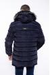 Куртка стеганая 162P035 темно-синий
