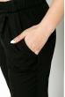 Брюки женские, классические  64PD222 черный