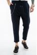 Стильные мужские брюки 158P4808 темно-синий