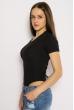 Боди женское с завязками на спине 629F1235 черный
