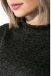 Гольф женский утепленный 70P027 грифельный меланж