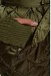 Куртка женская с митенками 120PSKL6903 оливковый