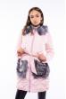 Куртка с пайетками на карманах 120PSKL6235 светло-розовый