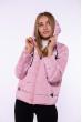 Куртка женская 184P002 бледно-лиловый