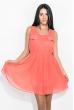 Платье 81P0128 коралловый