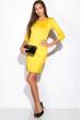 Платье 110P177-1 желтый