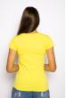 Футболка женская 85F381 базовая лимонный