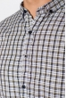 Рубашка 511F044 грифельно-сизый
