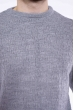 Джемпер однотонный 609F204 серый