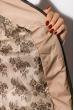 Женская куртка 127P007-1 бежевый