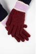 Перчатки  202P012 вишневый