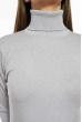 Гольф женский однотонный 613F002 светло-серый