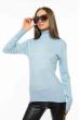 Гольф женский однотонный 613F002 голубой