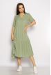 Однотонное платье свободного кроя 632F002 мятный