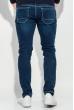 Джинсы мужские skinny 421F005 темно-синий
