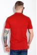 Однотонное поло 104P051 красный