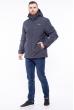 Куртка спортивная 120PCHB5231 серый меланж