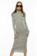 Платье-гольф 710F2020-05 серый
