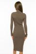 Платье-гольф 710F2020-05 капучино