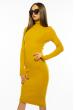 Платье-гольф 710F2020-05 горчичный
