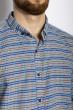 Рубашка 511F034 грифельно-зеленый