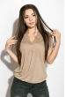 Блуза женская 516F480-1 бежевый