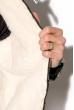 Куртка 121P019 черно-серый