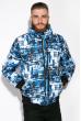 Куртка 121P019 черно-синий