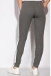 Брюки спортивные женские, с контрастной полоской 146P017 светло-серый