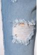 Джинсы женские рваные 213P62 голубой