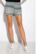 Легкие летние шорты 516F487 серо-белый