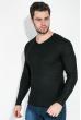 Пуловер мужской  130V002 черный