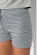 Костюм с цельнокроенным рукавом (шорты, футболка) 120PKLDL1774 светло-серый