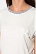 Костюм с цельнокроенным рукавом (шорты, футболка) 120PKLDL1774 молочный