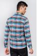 Рубашка светлая 371F011 серо-голубой