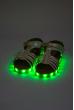 Босоножки детские светящиеся 11P029-1 жемчужный