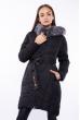 Куртка женская с поясом 120PSKL2258 черный