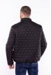 Куртка стеганая-соты 187P470 черный