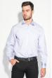 Рубашка мужская классическая 50PD0098  сиреневый