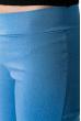 Брюки женские, молния сзади 84PD1134 темно-голубой