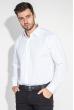 Рубашка мужская мелкий, фактурный принт 50PD37162-1 белый
