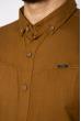 Рубашка однотонная 644f019 горчичный