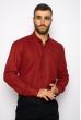 Рубашка однотонная 644f019 бордо