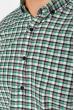 Рубашка 511F045 черно-зеленый