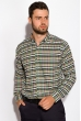 Рубашка 511F046 бежево-зеленый