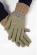 Перчатки  202P013 оливково-серый