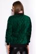 Бомбер женский 120POLD3007 зеленый