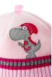 Шапка детская с нашивкой «Дракончик» 65P15-046 junior розовый